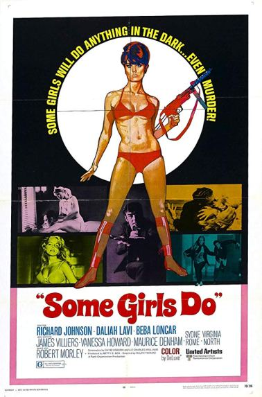 Some Girls Do 1969 Jame Bond Parody